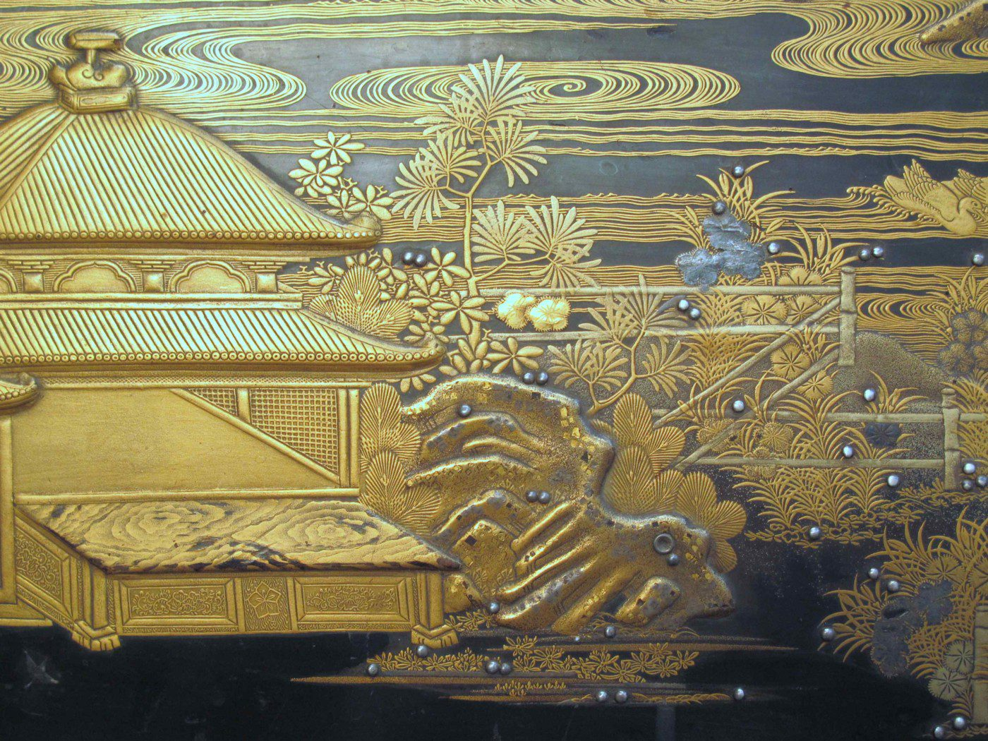 Detail au rocher du coffre de Mazarin
