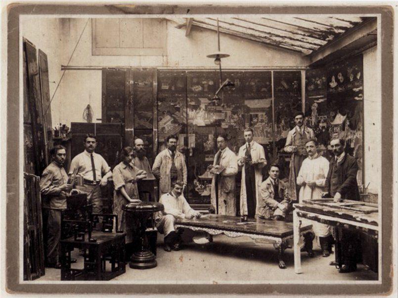 création des ateliers Brugier 1920