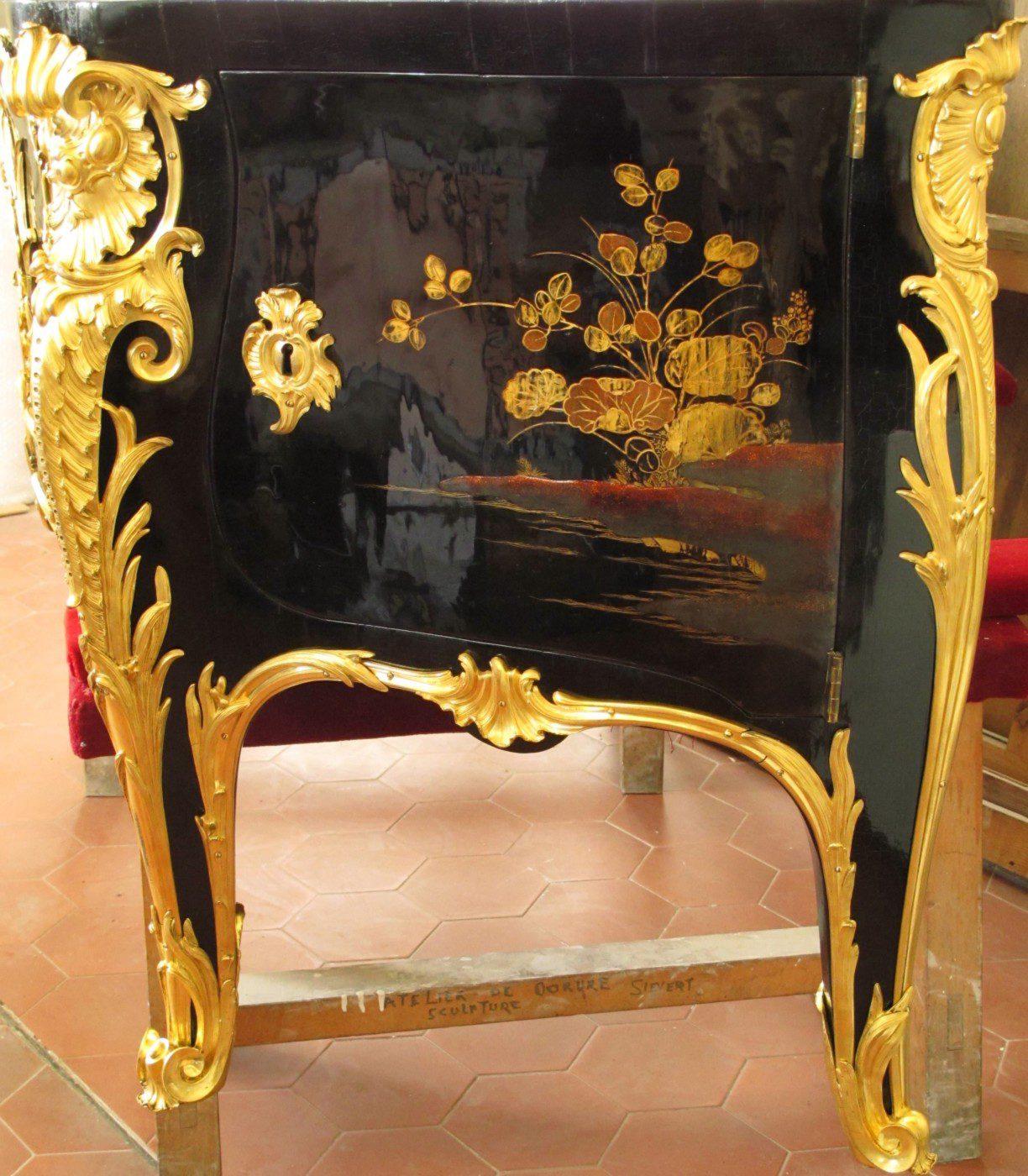La commode de Louis XV au château de Choisy
