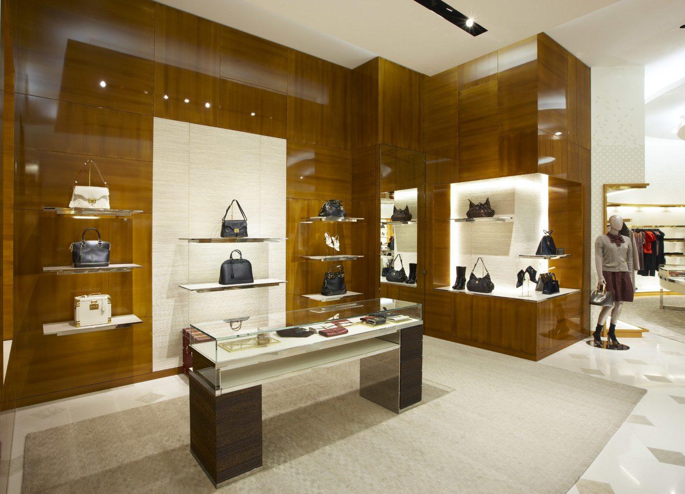 Decorazione di una boutique di lusso