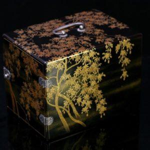 Kodansu miniature à décor de fleurs